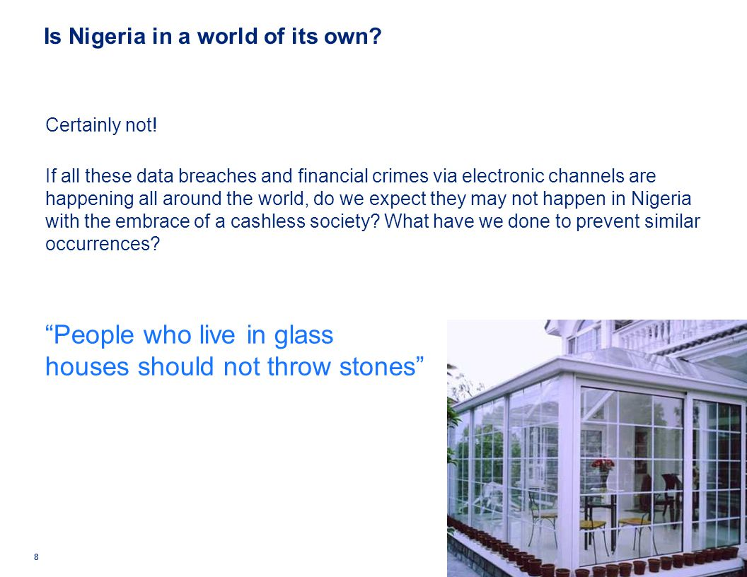 Is Nigeria in a world of its own