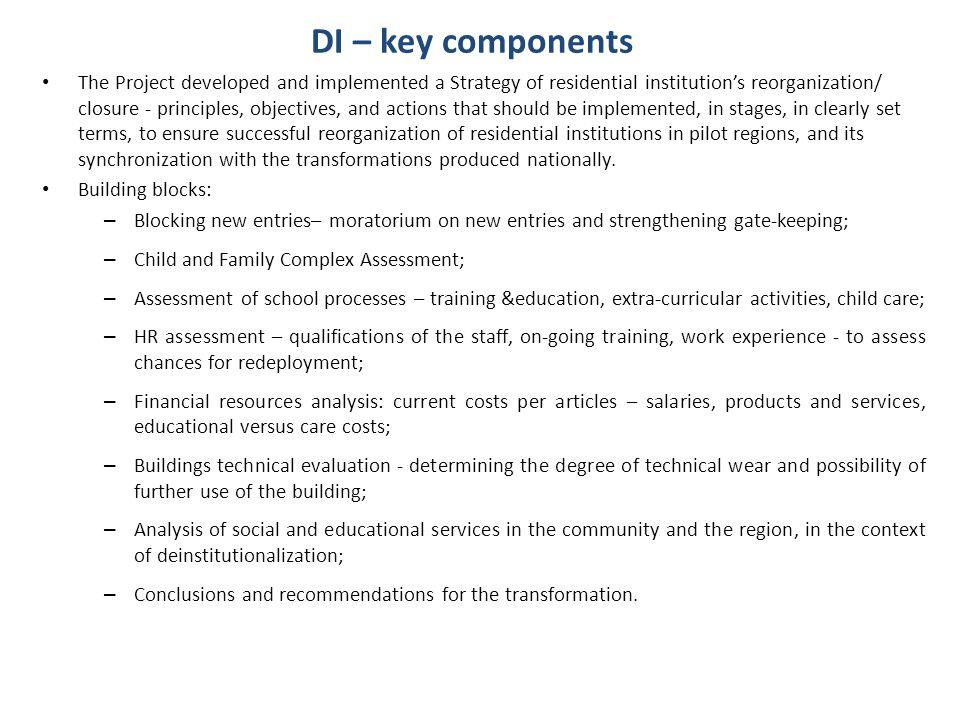 DI – key components