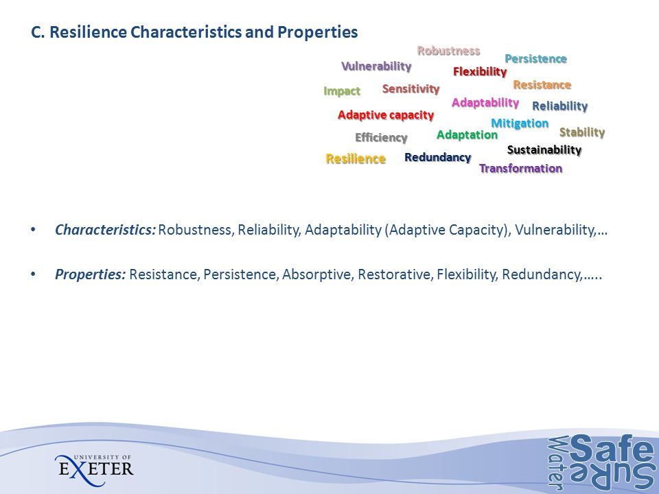 C. Resilience Characteristics and Properties