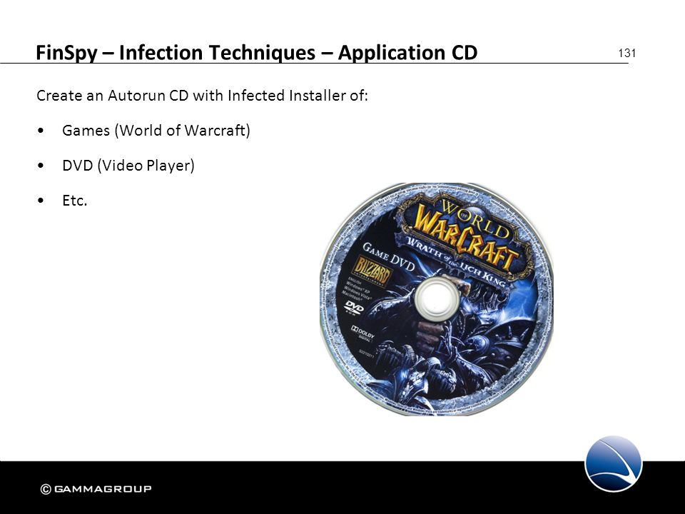 FinSpy – Infection Techniques – Application CD