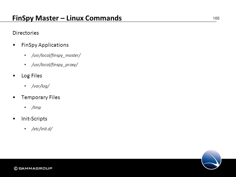 FinSpy Master – Linux Commands