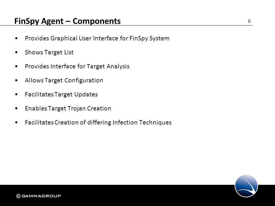 FinSpy Agent – Components