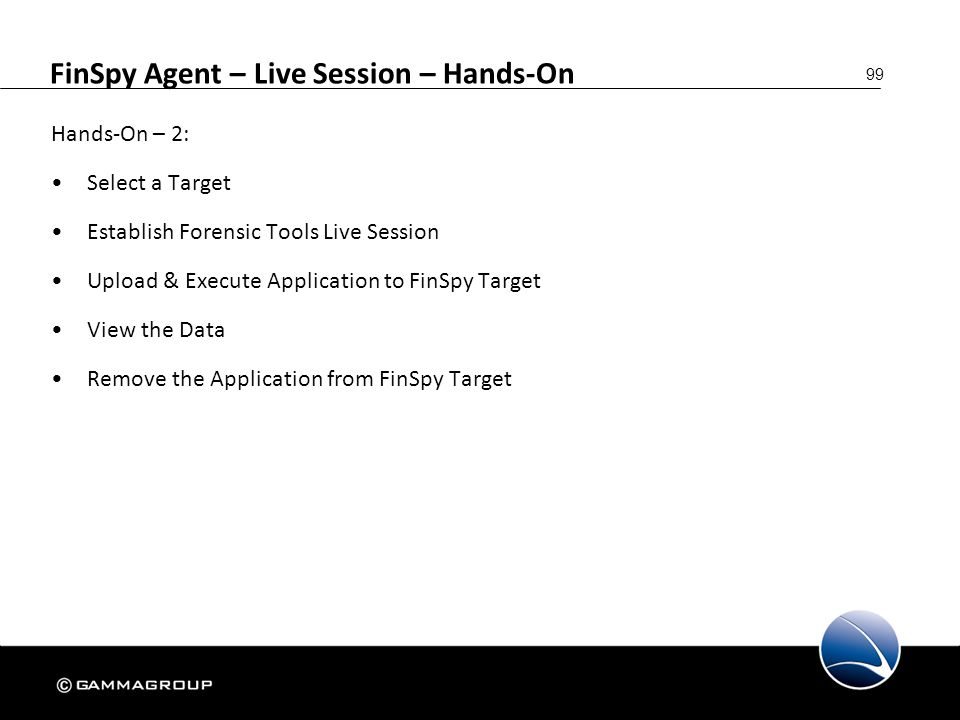 FinSpy Agent – Live Session – Hands-On