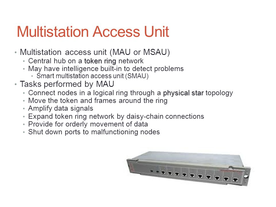 Multistation Access Unit