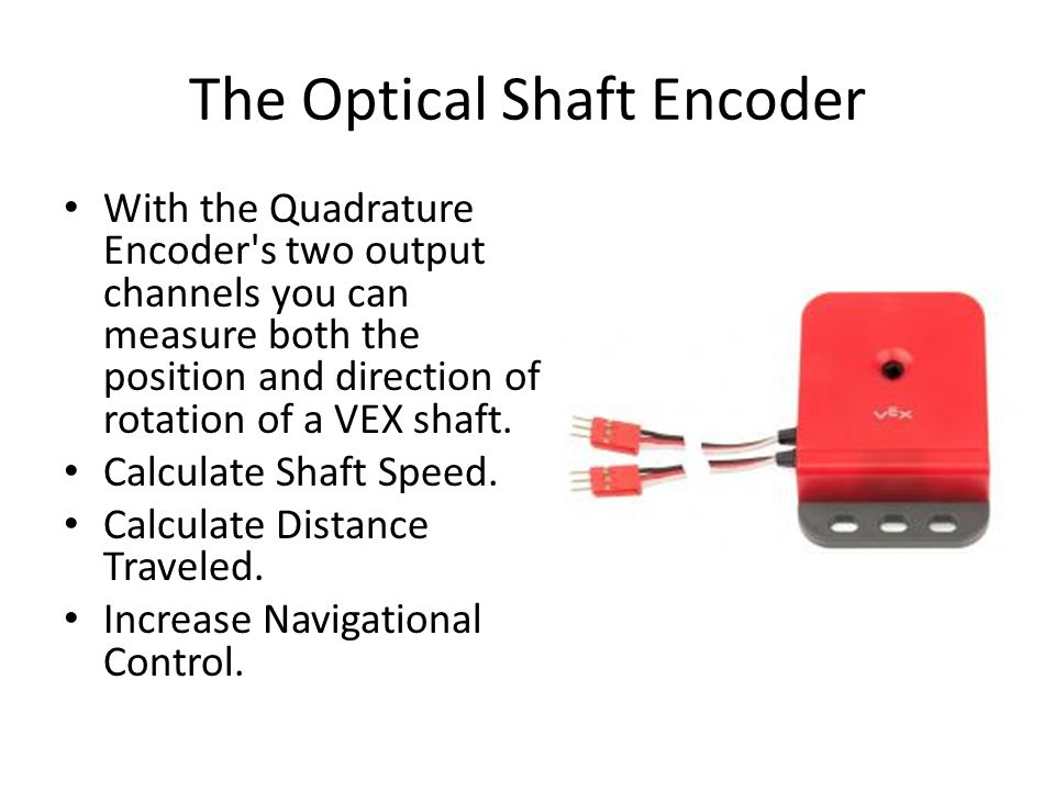 The Optical Shaft Encoder