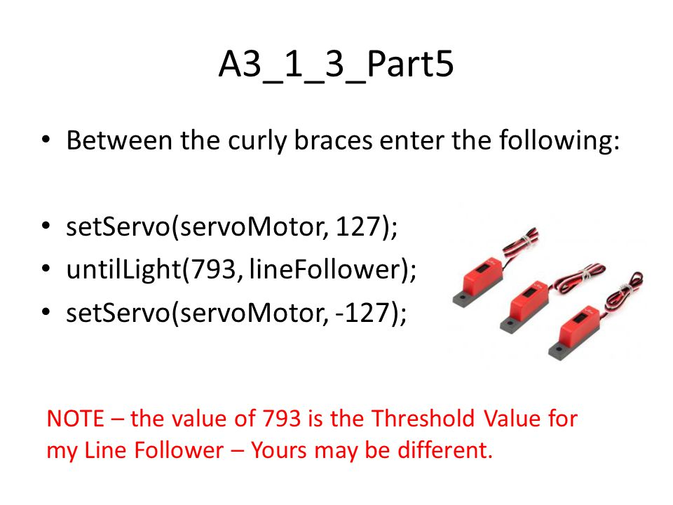 A3_1_3_Part5 Between the curly braces enter the following: