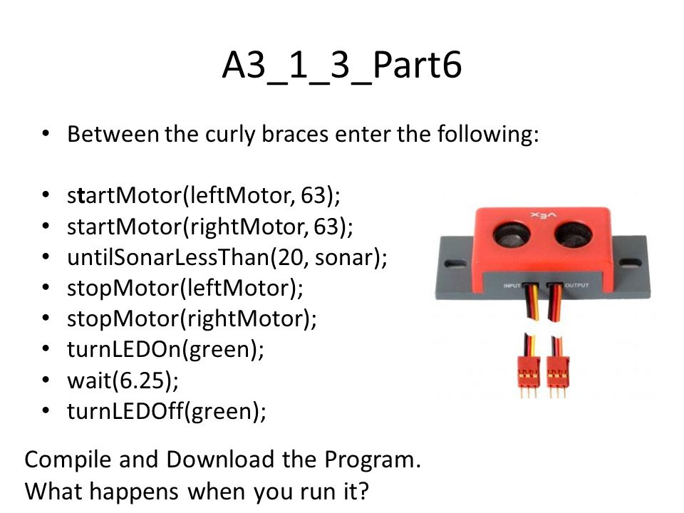 A3_1_3_Part6 Compile and Download the Program.