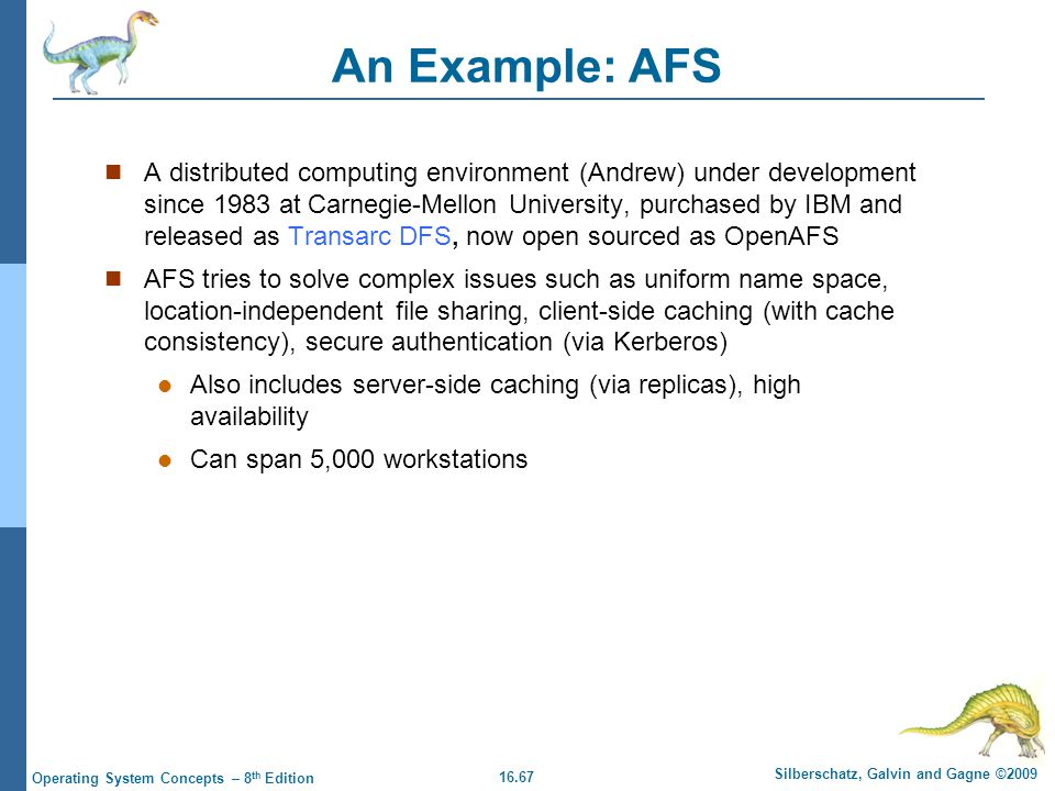 An Example: AFS