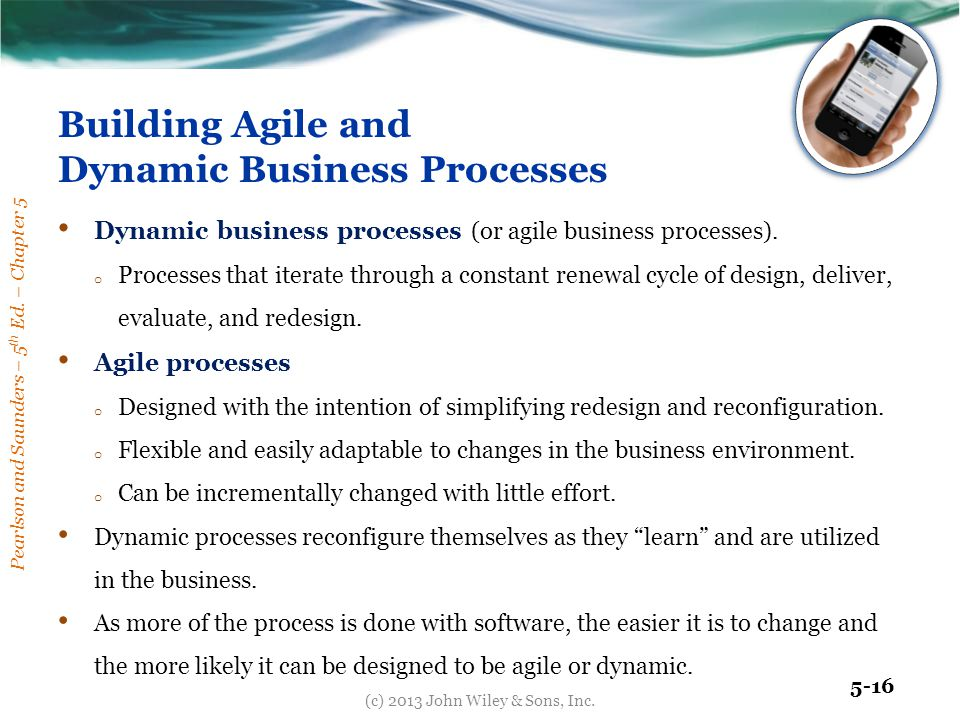 Building Agile and Dynamic Business Processes