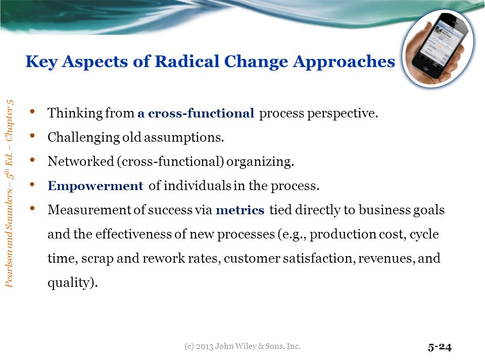 Key Aspects of Radical Change Approaches