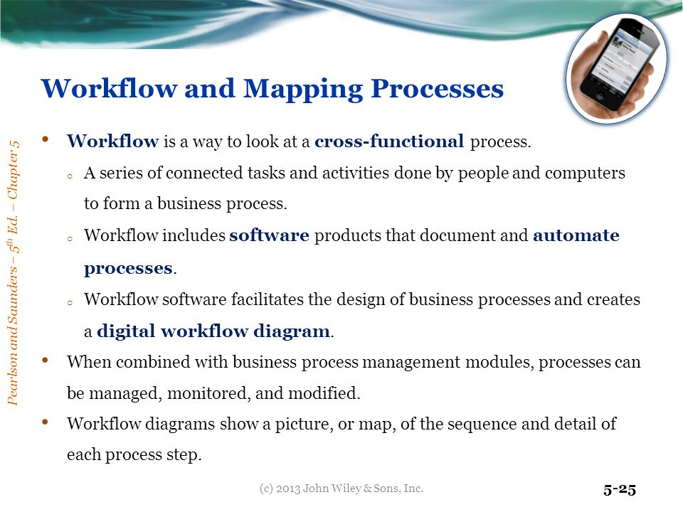 Workflow and Mapping Processes