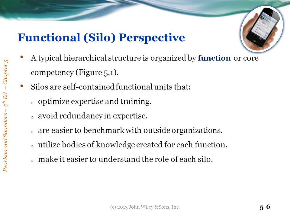 Functional (Silo) Perspective