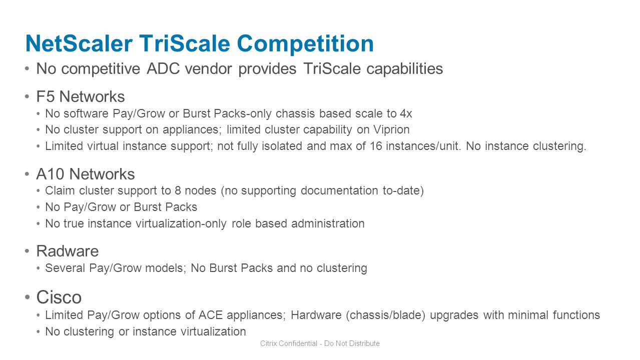 NetScaler TriScale Competition