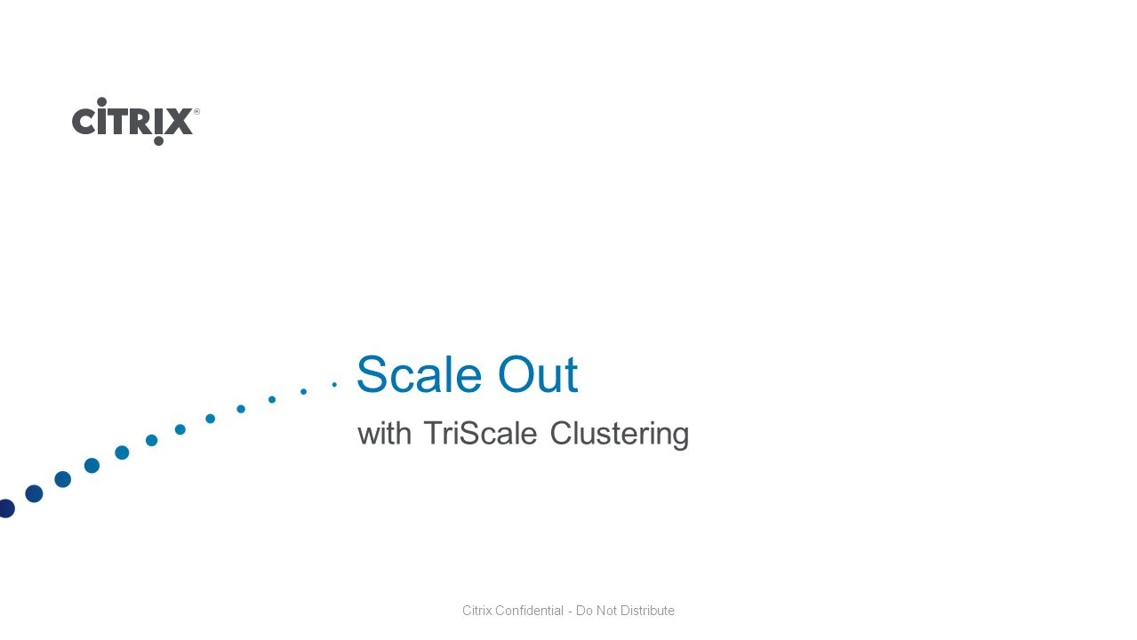 with TriScale Clustering
