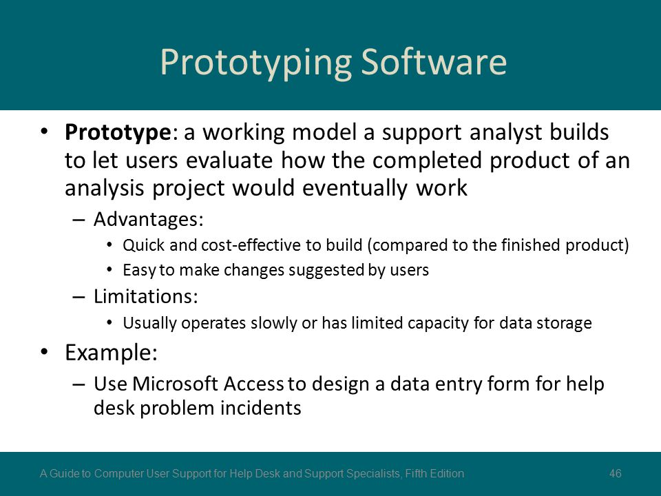Prototyping Software