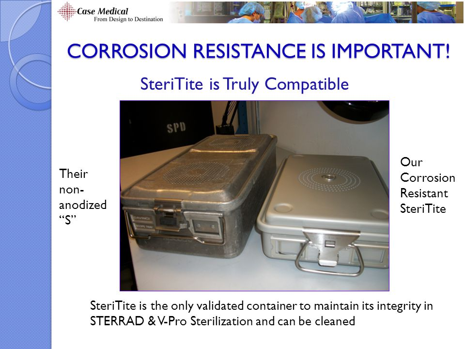 Corrosion Resistance is Important!