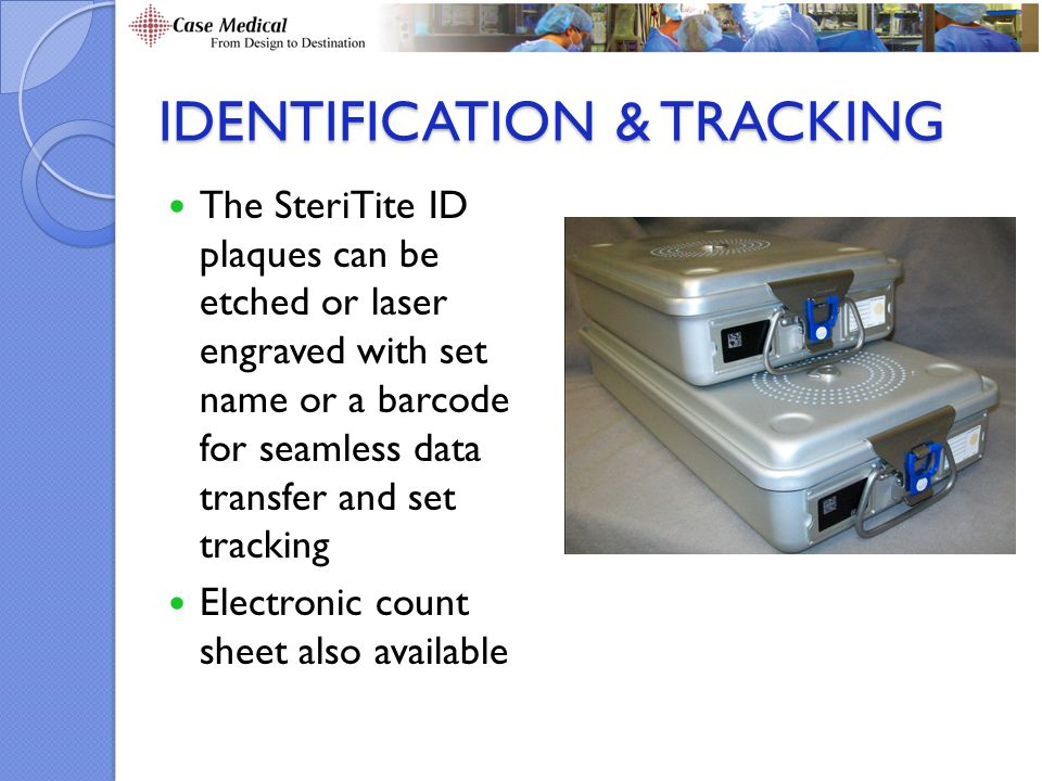 Identification & Tracking