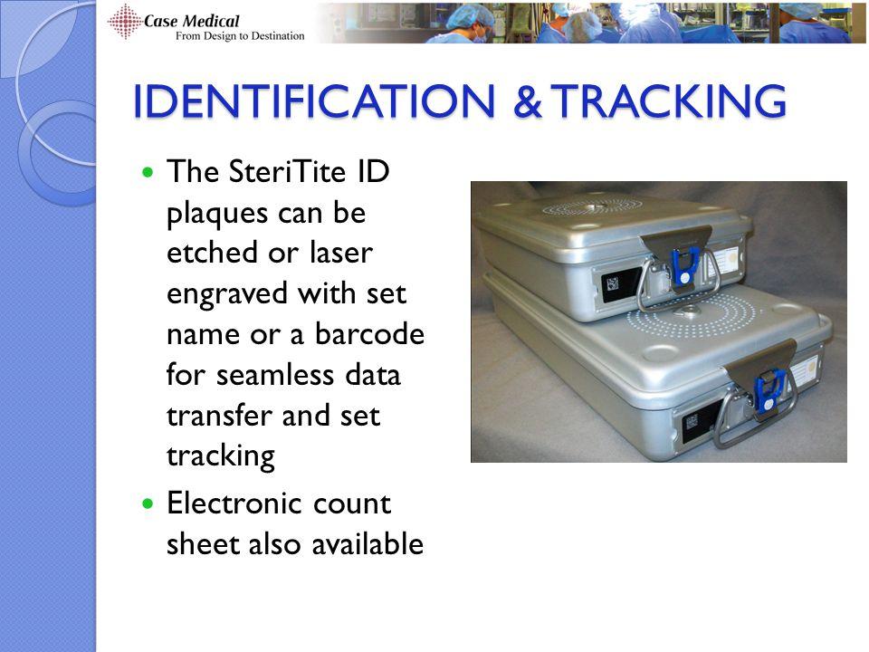 Identification & Tracking