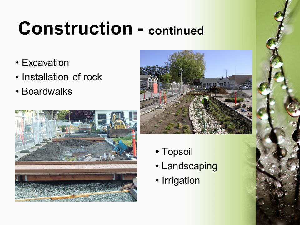 Construction - continued