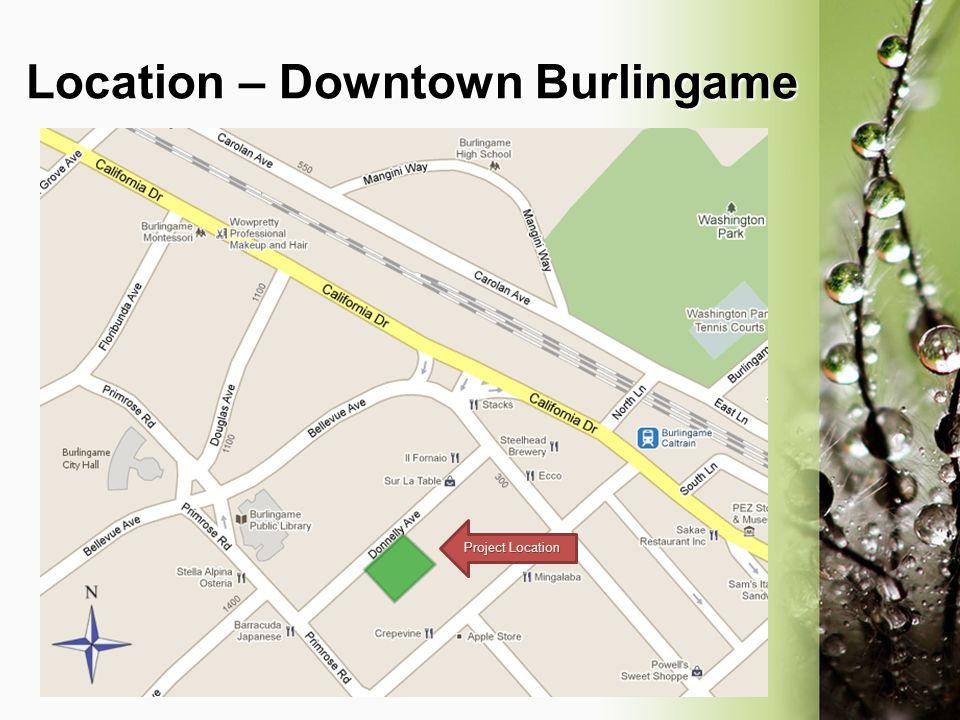 Location – Downtown Burlingame