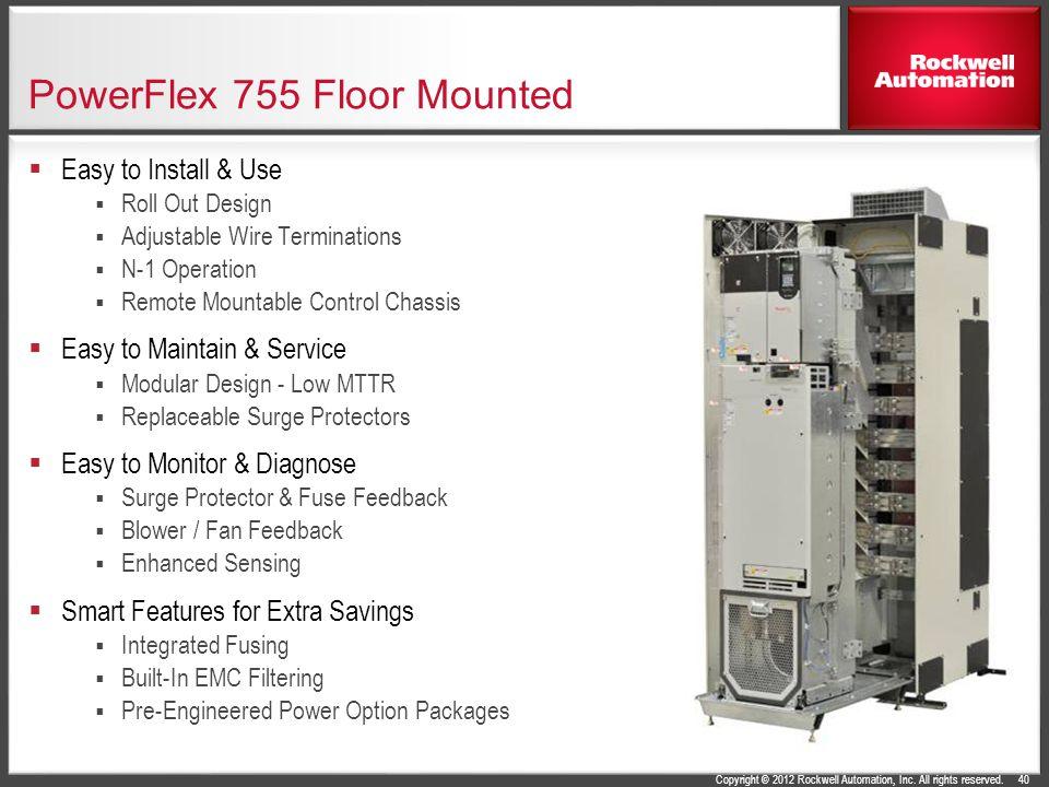 powerflex 750 series ac drives ppt 40 powerflex 755 floor mounted