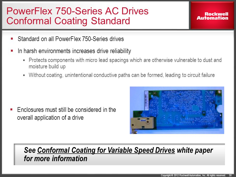 PowerFlex 750-Series AC Drives Conformal Coating Standard