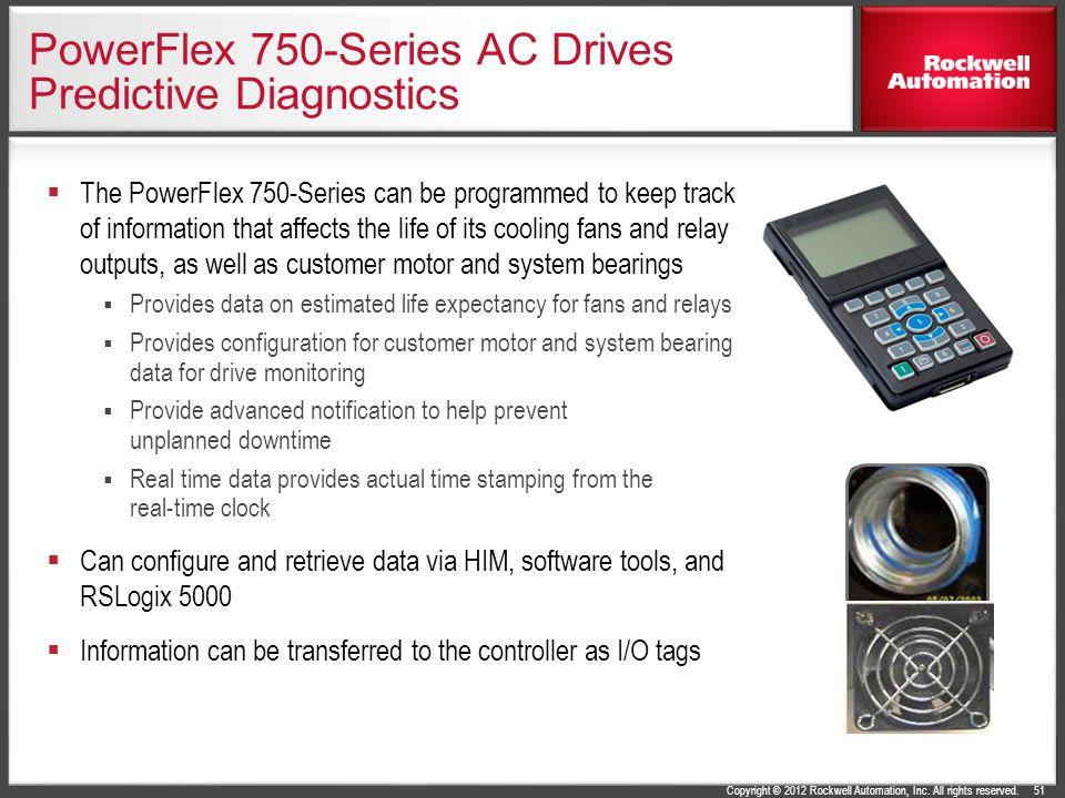 PowerFlex 750-Series AC Drives Predictive Diagnostics