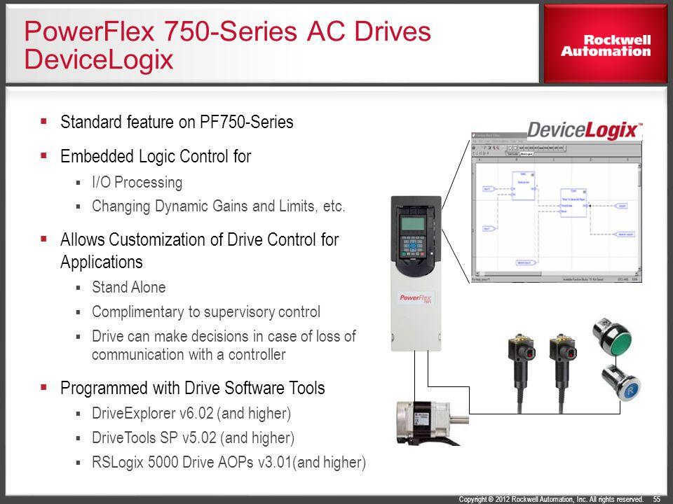 PowerFlex 750-Series AC Drives DeviceLogix