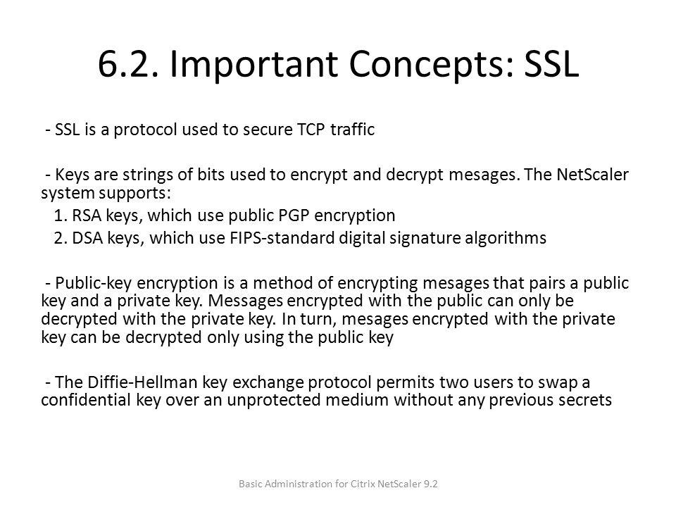6.2. Important Concepts: SSL