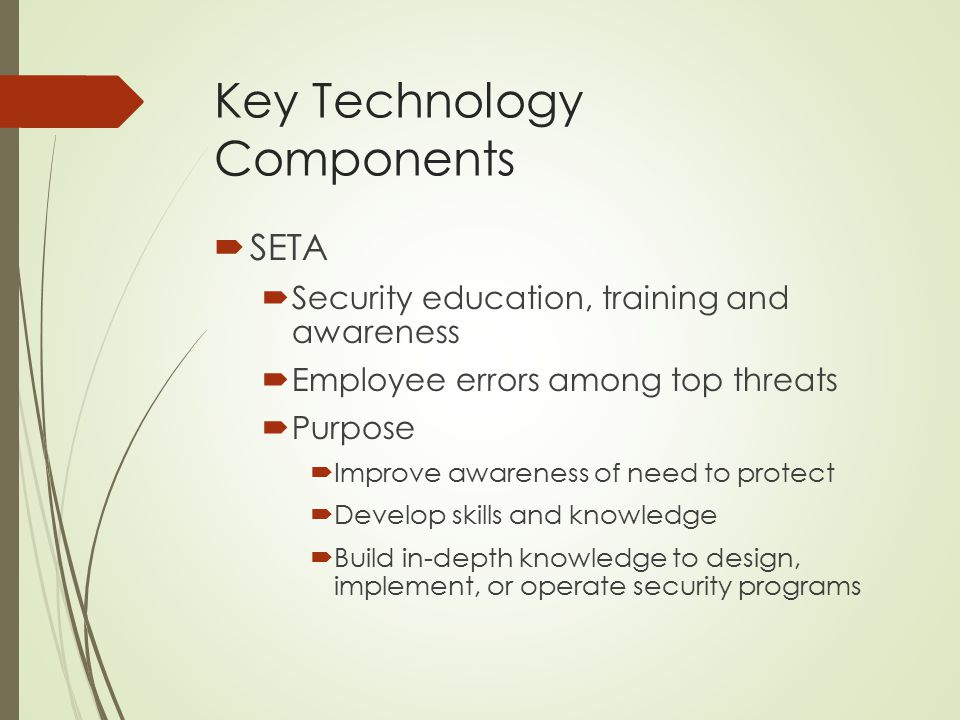 Key Technology Components