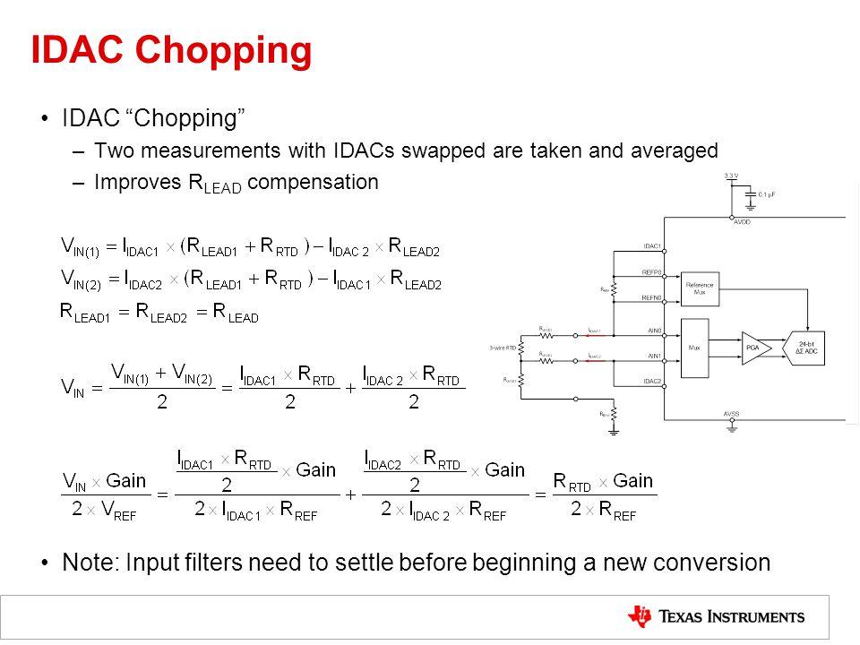 IDAC Chopping IDAC Chopping