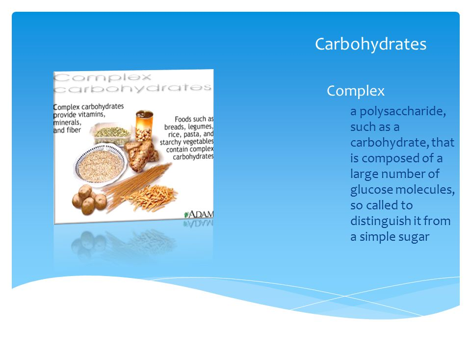 Carbohydrates Complex