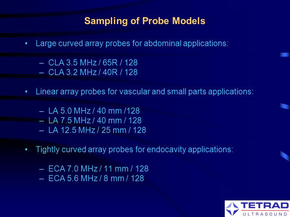 Sampling of Probe Models