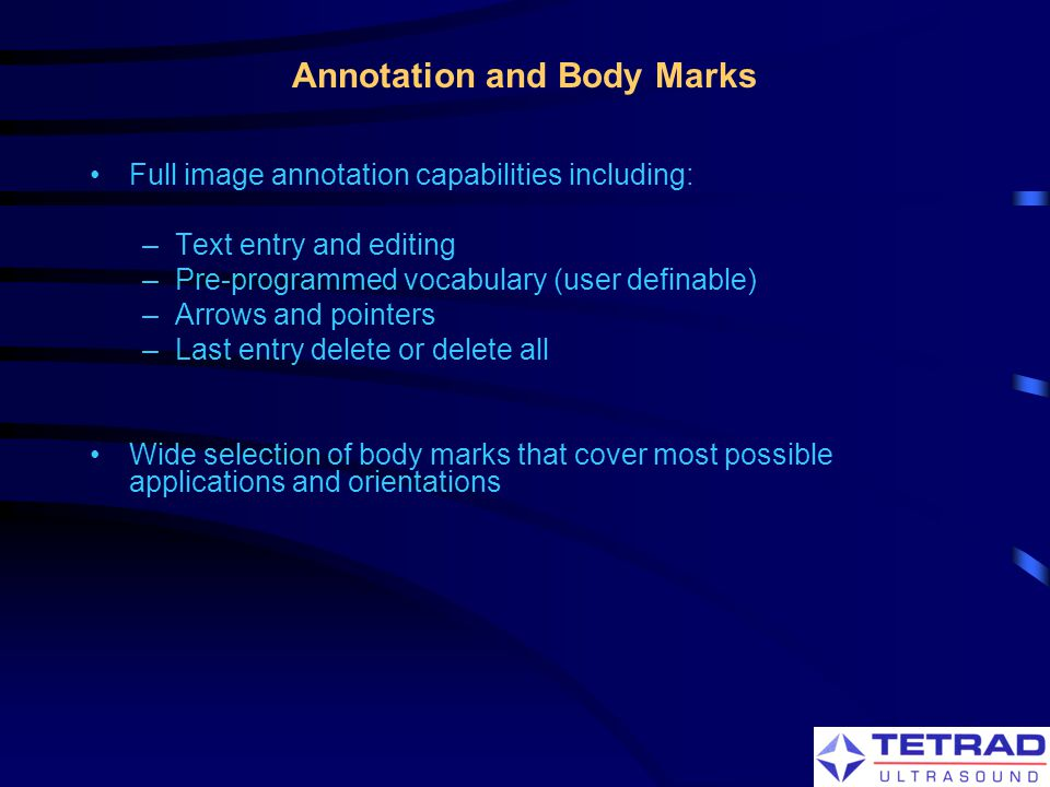 Annotation and Body Marks