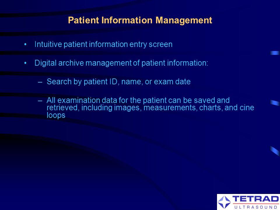 Patient Information Management