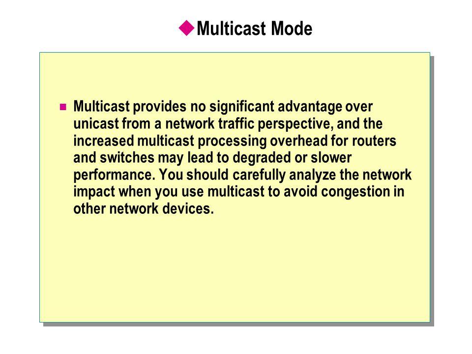 Multicast Mode