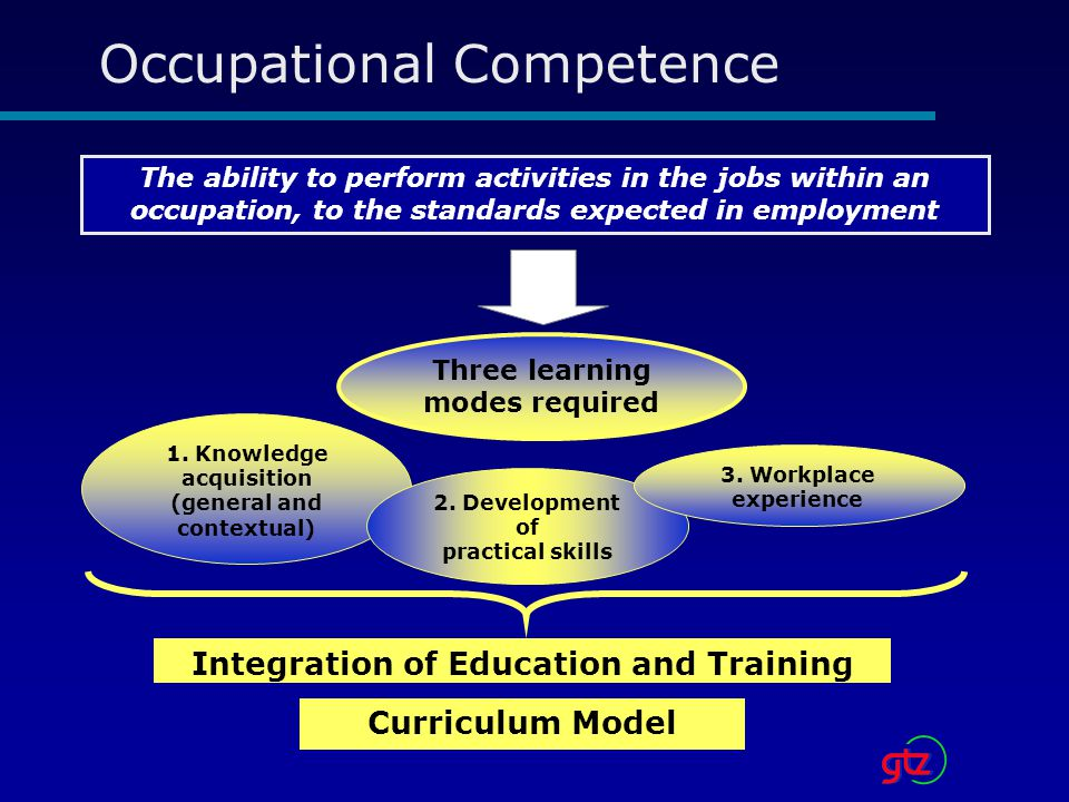 Occupational Competence