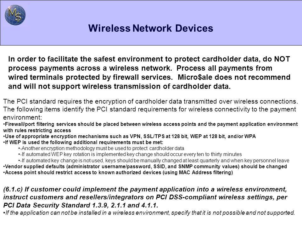 Wireless Network Devices