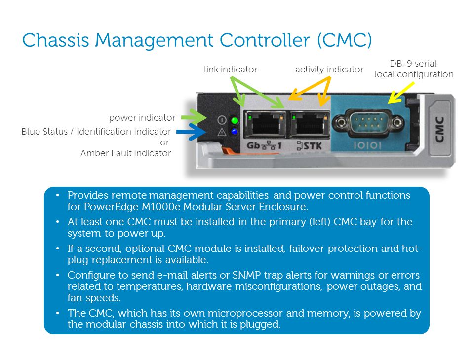 Chassis Management Controller (CMC)