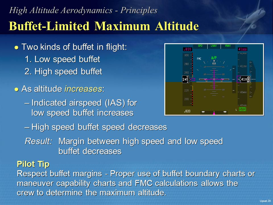 Buffet-Limited Maximum Altitude