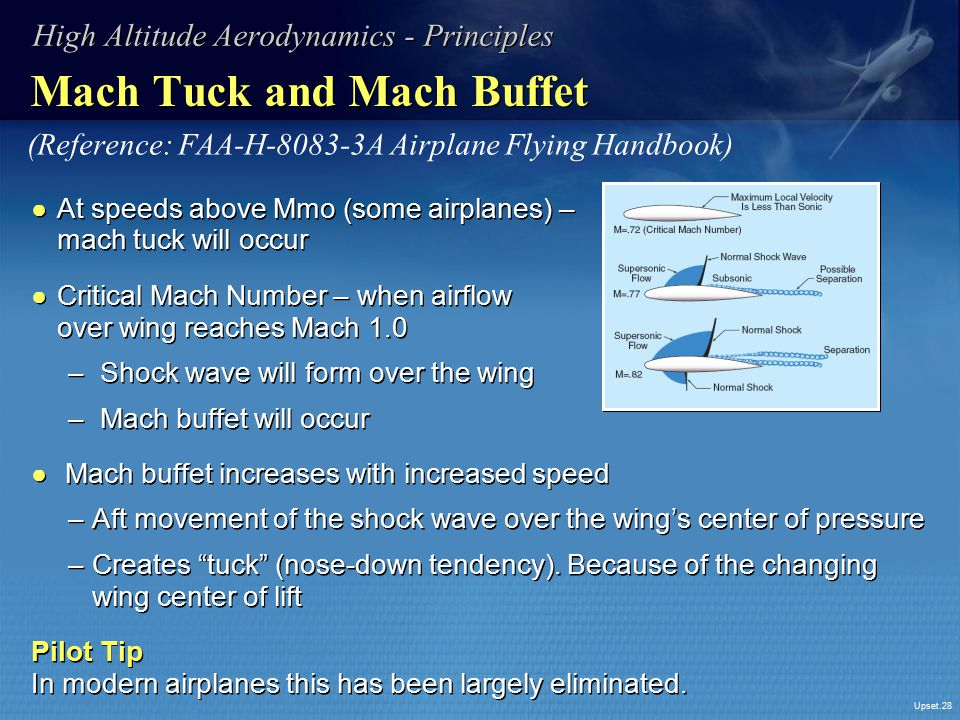 Mach Tuck and Mach Buffet