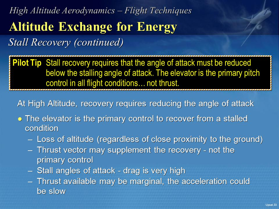 Altitude Exchange for Energy