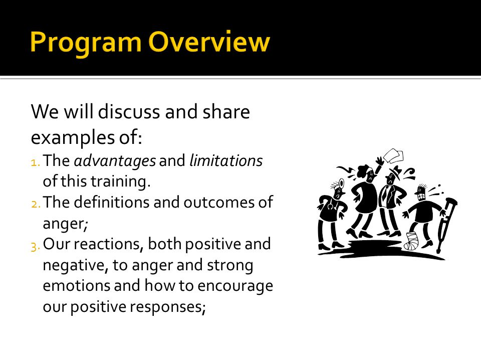 Program Overview We will discuss and share examples of: