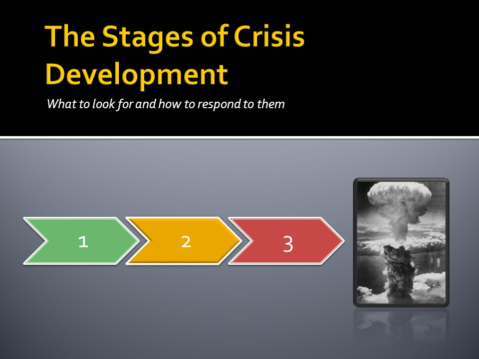 The Stages of Crisis Development
