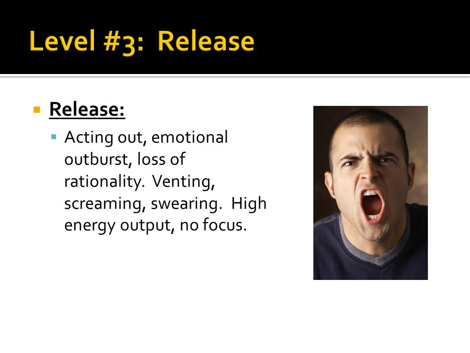 Level #3: Release Release: