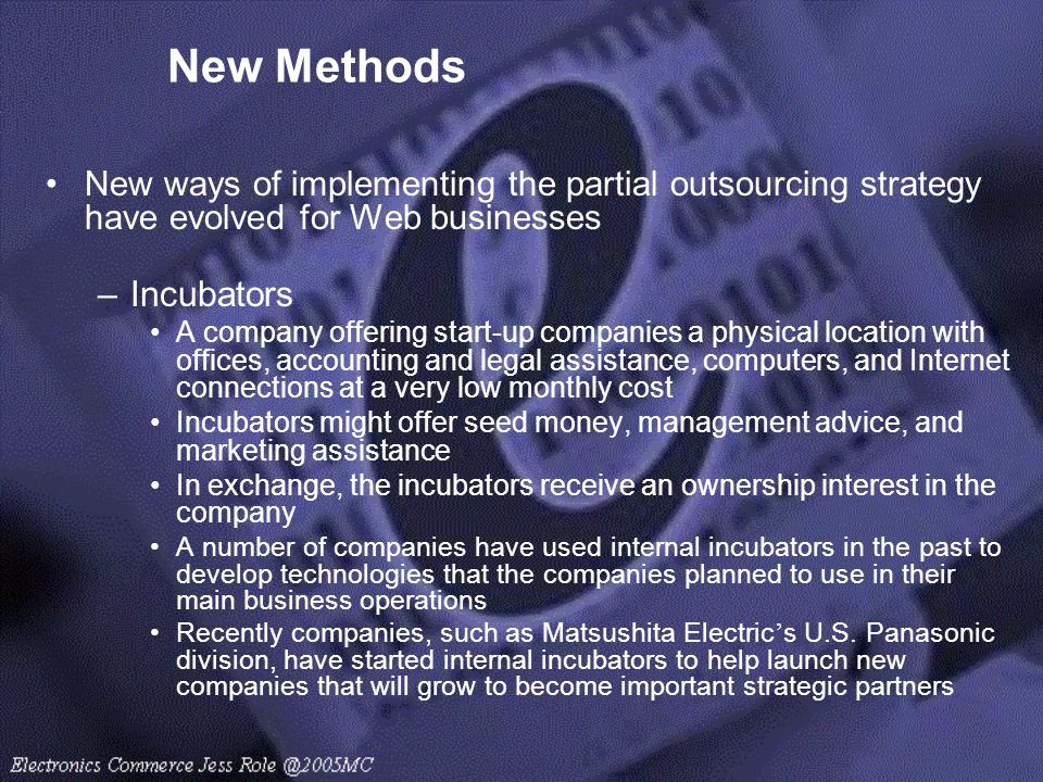 New Methods Incubators