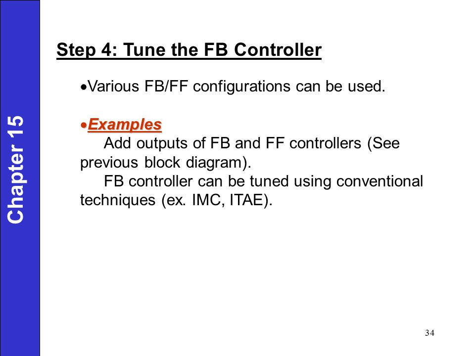 Chapter 15 Step 4: Tune the FB Controller