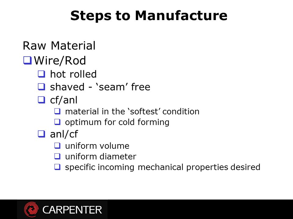 Steps to Manufacture Raw Material Wire/Rod hot rolled