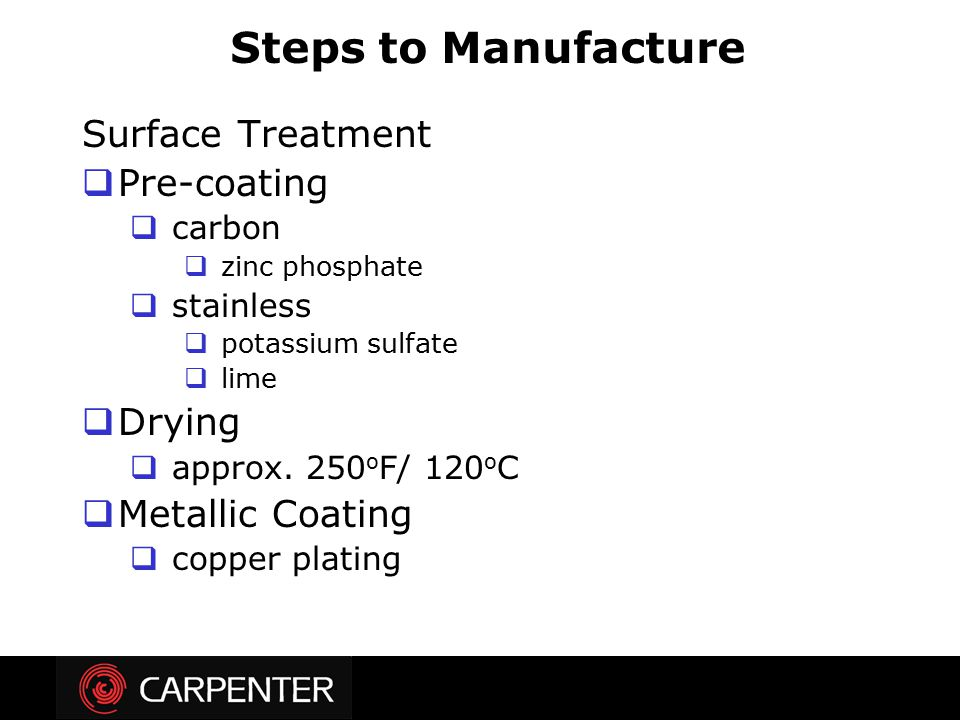 Steps to Manufacture Surface Treatment Pre-coating Drying