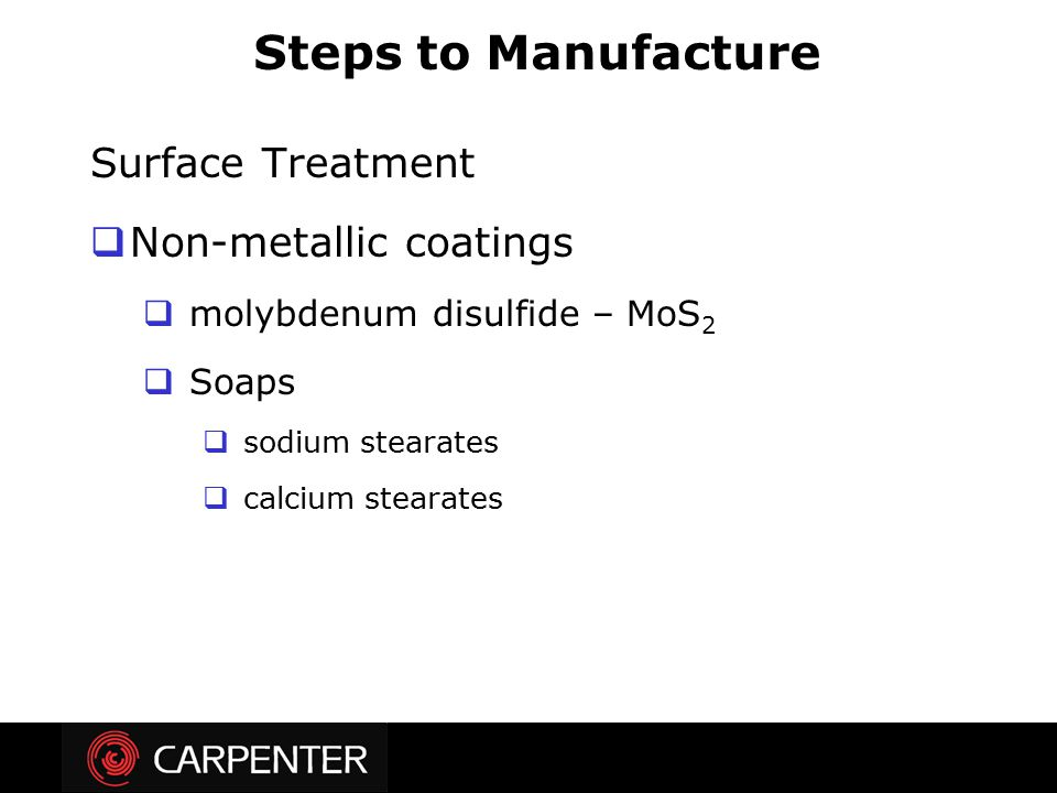 Steps to Manufacture Surface Treatment Non-metallic coatings